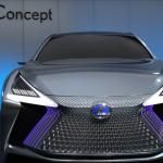 東京モーターショー2017,レクサス,LS+ Conceptを前から見た画像