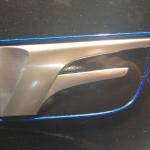 レクサスRCF,F10周年記念特別仕様車のエンブレム画像