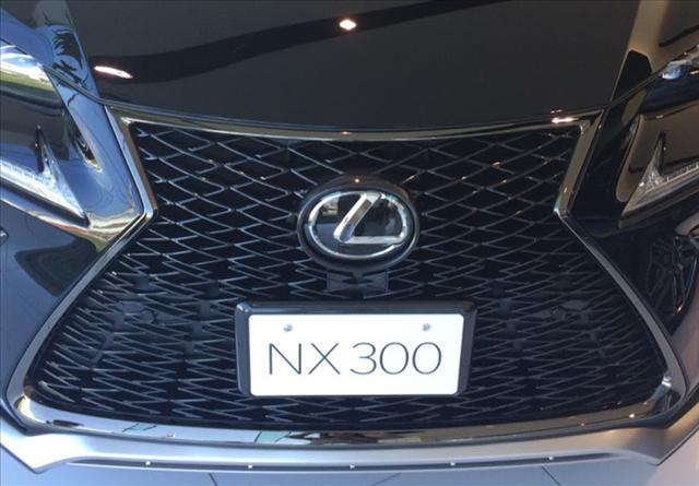 レクサスnx,マイナーチェンジ,評判,NX300のフロントグリルの写真