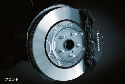 レクサスLS,新型,Fスポーツ専用ブレーキの画像