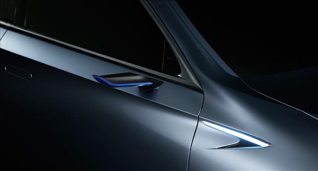 レクサス,LEXUS,LS+ Conceptの電子アウターミラー画像