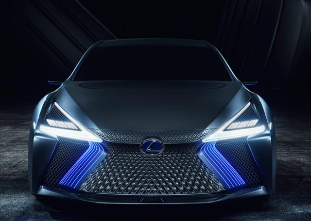 レクサス,LEXUS,LS+ Conceptのスピンドルグリル画像