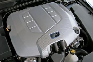レクサス,LEXUS,IS Fのエンジン画像