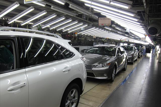 レクサス,LEXUS,宮田工場の生産ラインの画像