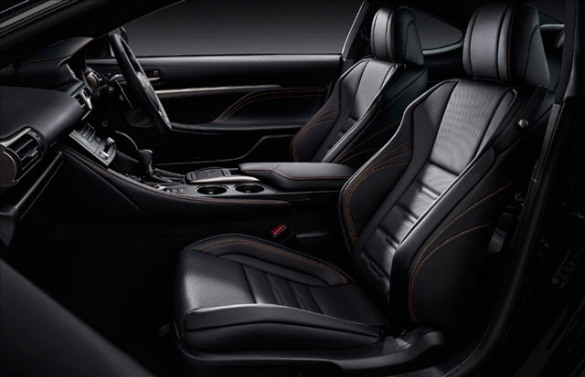 レクサスrc特別仕様車F SPORT Prime Blackの内装画像
