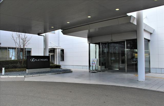 レクサス宮田工場の入り口画像