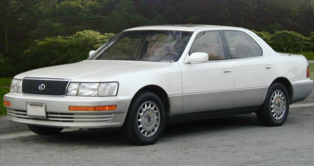 レクサスLS400の画像
