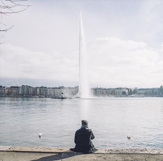 スイスジュネーブモーターショー,大噴水の画像