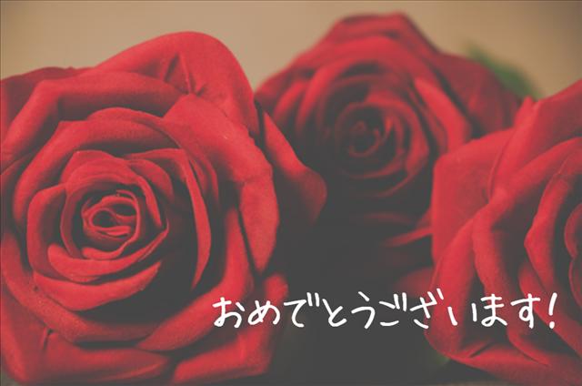 赤いバラの画像